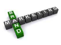 Brand marketing Royalty Free Stock Photos
