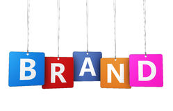 Brand Marketing Concept Stock Photo