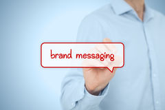 Brand messaging Stock Photography