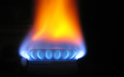 Brand mit Energie stockfotografie