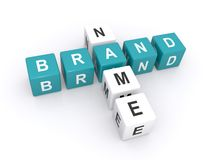 Brand name sign Royalty Free Stock Photography
