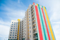 Brand new apartment building Stock Images