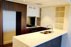 Brand New Apartment kitchen Stock Photos