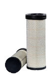 Brand new automotive oil filter cartridge. On white background Royalty Free Stock Image