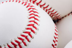Brand new baseballs Stock Images