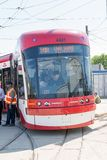 Brand New Bombardier Streetcars for Toronto Royalty Free Stock Photo