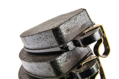 Brand new brake pads. For the automotive industry Royalty Free Stock Photography