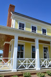 Brand New Capecod Suburban American Dream Home Stock Photo