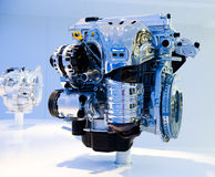 Brand new car engine Royalty Free Stock Photography
