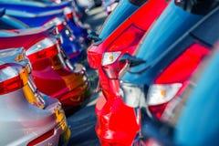 Brand New Cars Market stock image