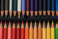 Brand new color pencils Royalty Free Stock Image