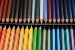 Brand new color pencils Royalty Free Stock Photos