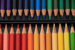 Brand new color pencils Royalty Free Stock Images