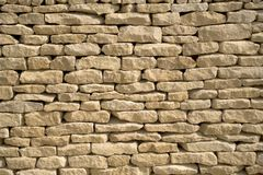 Cotswold drystone wall stock images