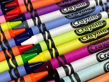 Brand New Crayola Crayons royalty free stock photo