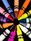 Brand New Crayons stock images