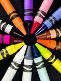 Brand New Crayons stock photos