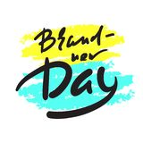 Brand-new day - simple inspire motivational quote. Hand drawn beautiful lettering. Youth slang stock illustration