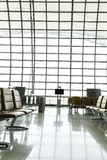 A brand new departure lounge at the airport Stock Images