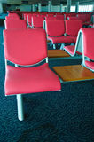 Brand new departure lounge at the airport Royalty Free Stock Image