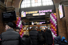 BRAND NEW DUNKIN AND DONUTS Royalty Free Stock Photography