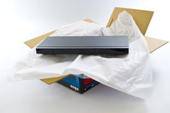 Brand New DVD Player Royalty Free Stock Image