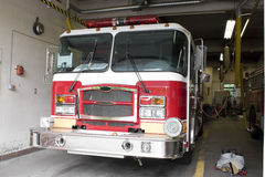 Brand New Fire Truck Stock Photography