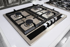 Brand new gas stove Royalty Free Stock Image