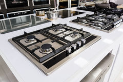 Brand new gas stoves Stock Image