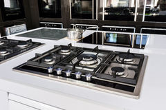 Brand new gas stoves Royalty Free Stock Photography