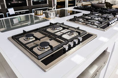 Brand new gas stoves Stock Images