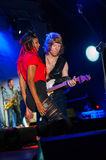 The Brand New Heavies group performs at Usadba Jazz Festival Stock Photography