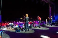 The Brand New Heavies group performs at Usadba Jazz Festival Stock Photo