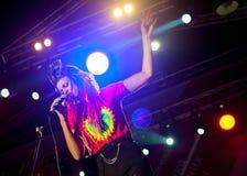 The Brand New Heavies group performs at Usadba Jazz Festival Royalty Free Stock Photos
