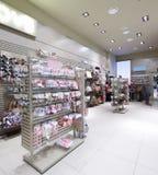 Brand new interior of accessories store Stock Photo