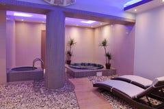 Brand new interior of beauty salon Royalty Free Stock Image