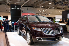Brand new Lincoln SUV Stock Image