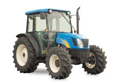 Brand new medium sized tractor Royalty Free Stock Photography