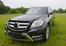 Brand new Mercedes Benz GLK, SUV outside royalty free stock photos