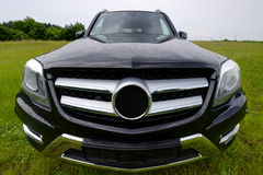 Brand new Mercedes Benz GLK, SUV stock photo