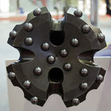 Brand new oil rig drill bit detail Stock Images