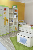 Brand New Room for little Boy Stock Photos