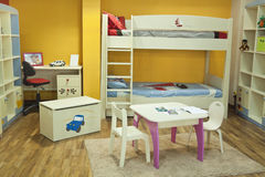 Brand New Room for Small Boy Royalty Free Stock Photography