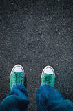 Brand new shoes Stock Photography