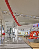 Brand-new shopping environment at Brussels airport Stock Images