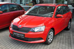 Brand new Skoda Fabia Combi Royalty Free Stock Photography