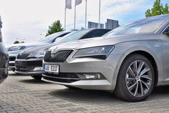 Brand new Skoda Royalty Free Stock Photos