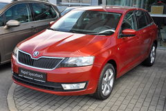 Brand new Skoda Rapid Spaceback Royalty Free Stock Photography