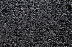 Brand new tarmac on a public road Stock Image