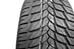 Brand new tire pattern Stock Photos